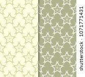 olive green floral backgrounds. ... | Shutterstock .eps vector #1071771431
