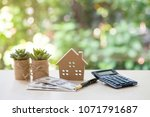 home loan  mortgage and real... | Shutterstock . vector #1071791687