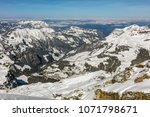 a wintertime view from mt.... | Shutterstock . vector #1071798671