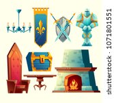 Vector Set Of Fantasy Items ...