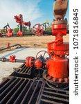 oil well valve | Shutterstock . vector #1071816845