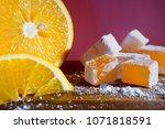 Orange Turkish Delight. Rakhat...