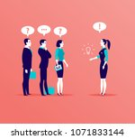 vector flat business... | Shutterstock .eps vector #1071833144