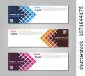 vector abstract design web... | Shutterstock .eps vector #1071844175