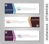 vector abstract design web... | Shutterstock .eps vector #1071844181