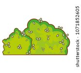 nature leaves bushes spring... | Shutterstock .eps vector #1071852605