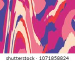 abstract colorful swirl... | Shutterstock . vector #1071858824