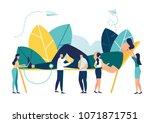 vector illustration ... | Shutterstock .eps vector #1071871751