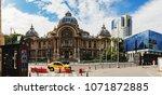 bucharest  romania   september...   Shutterstock . vector #1071872885