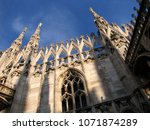 italy  lombardy region  city of ... | Shutterstock . vector #1071874289