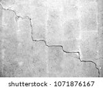 the wall with cracks  white... | Shutterstock . vector #1071876167