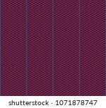 isometric grid. vector seamless ... | Shutterstock .eps vector #1071878747