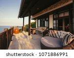 Tropical Luxury Villa Interior...