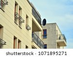 modern and new apartment... | Shutterstock . vector #1071895271