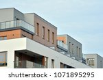 modern and new apartment... | Shutterstock . vector #1071895295