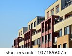 modern and new apartment... | Shutterstock . vector #1071896075