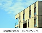 modern and new apartment... | Shutterstock . vector #1071897071