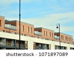 modern and new apartment... | Shutterstock . vector #1071897089