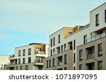 modern and new apartment... | Shutterstock . vector #1071897095
