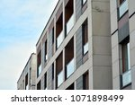 modern and new apartment... | Shutterstock . vector #1071898499