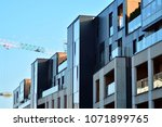 modern and new apartment... | Shutterstock . vector #1071899765