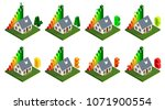 energy efficiency and home... | Shutterstock .eps vector #1071900554