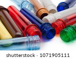 raw material for plastic bottle ... | Shutterstock . vector #1071905111
