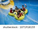 malacca  malaysia   18 april... | Shutterstock . vector #1071918155