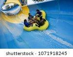 malacca  malaysia   18 april... | Shutterstock . vector #1071918245