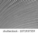 hot rolled steel strip coil | Shutterstock . vector #1071937559