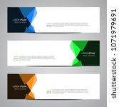 modern banner vector for your... | Shutterstock .eps vector #1071979691
