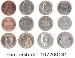 Set Of Isolated Coins From...