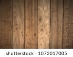 close up soft wood table floor... | Shutterstock . vector #1072017005
