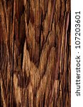 the old cracked wooden background - stock photo