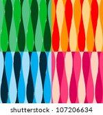 set of seamless pattern... | Shutterstock .eps vector #107206634
