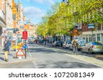leicester  united kingdom ... | Shutterstock . vector #1072081349