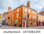 leicester  united kingdom ... | Shutterstock . vector #1072081355
