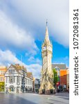 leicester  united kingdom ... | Shutterstock . vector #1072081361