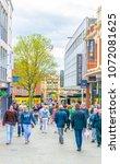 lincoln  united kingdom  april... | Shutterstock . vector #1072081625