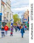 lincoln  united kingdom  april... | Shutterstock . vector #1072081631