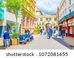 lincoln  united kingdom  april... | Shutterstock . vector #1072081655