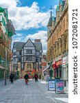 leicester  united kingdom ... | Shutterstock . vector #1072081721