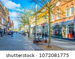 leicester  united kingdom ... | Shutterstock . vector #1072081775