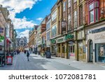 leicester  united kingdom ... | Shutterstock . vector #1072081781