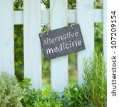 alternative medicine | Shutterstock . vector #107209154