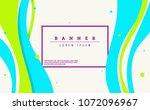 dynamic style creative art... | Shutterstock .eps vector #1072096967