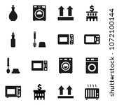 flat vector icon set   toilet... | Shutterstock .eps vector #1072100144
