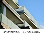 modern and new apartment... | Shutterstock . vector #1072113089