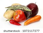 fresh vegetables for dietary... | Shutterstock . vector #1072117277