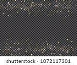 abstract bokeh and gold glitter ...   Shutterstock .eps vector #1072117301